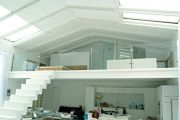 Glass balustrades & handrail support example no. 9