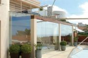 Terrace & balcony glazing example no. 12